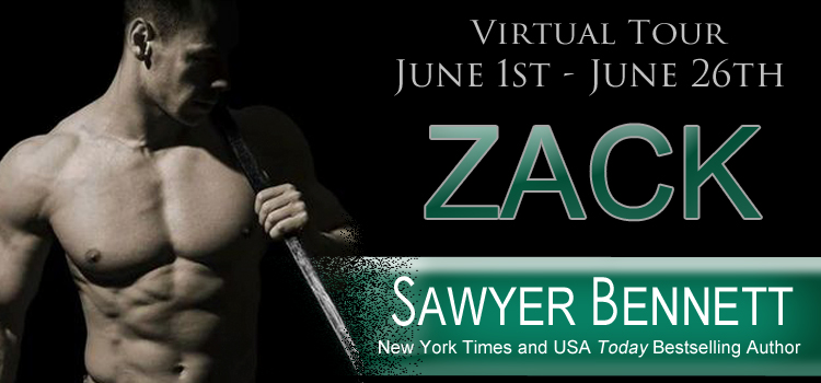 Virtual Tour:  Zack by Sawyer Bennett! #Review #Excerpt #Giveaway