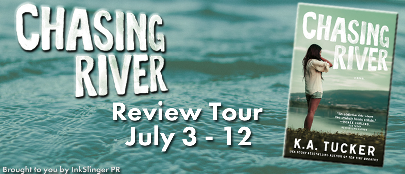 Review Tour - 5 Stars -  Chasing River by K. A. Tucker #Giveaway Full signed set of K.A. Tucker's books!