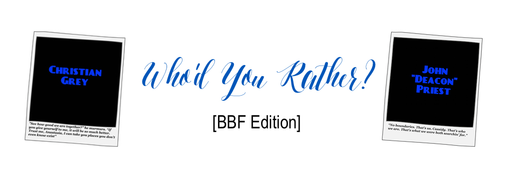 Who'd You Rather – Book Boyfriend Edition {tag @Christyb23 @flo_reads}