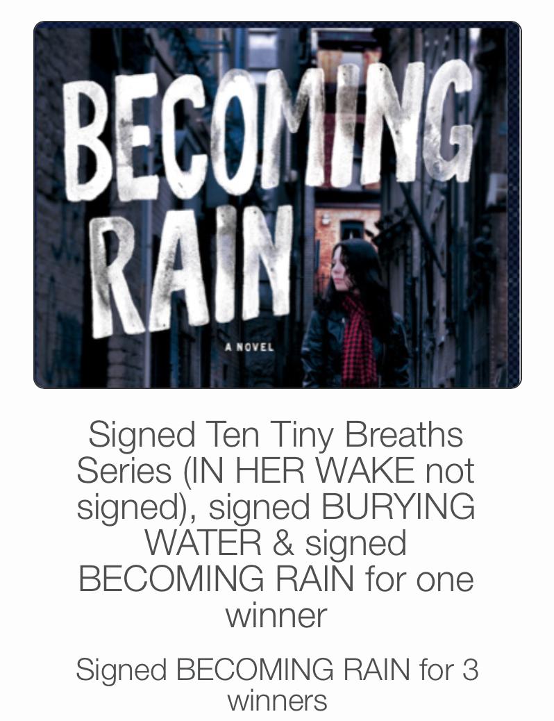 Becoming Rain giveaway