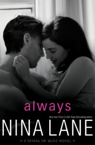 Review Tour – ALWAYS (Spiral of Bliss #5) by Nina Lane