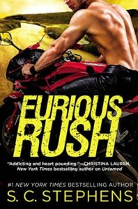 Blog Tour — Furious Rush by S.C. Stephens | I have a review, giveaway and Top 5 List