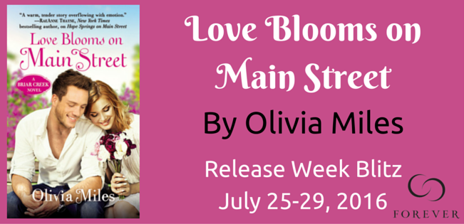 Ten (10) mass market copies of LOVE BLOOMS ON MAIN STREET by Olivia Miles