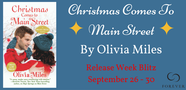 Spotlight --- CHRISTMAS COMES TO MAIN STREET by Olivia Miles