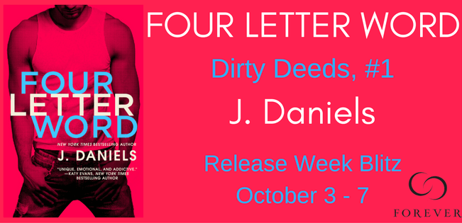 Four Letter Word by J. Daniels --> Review, Giveaway, Audible Sample, Excerpt and more