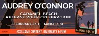Release Week Celebration for Caramel Beach by Audrey O'Connor | Kindle Fire Giveaway