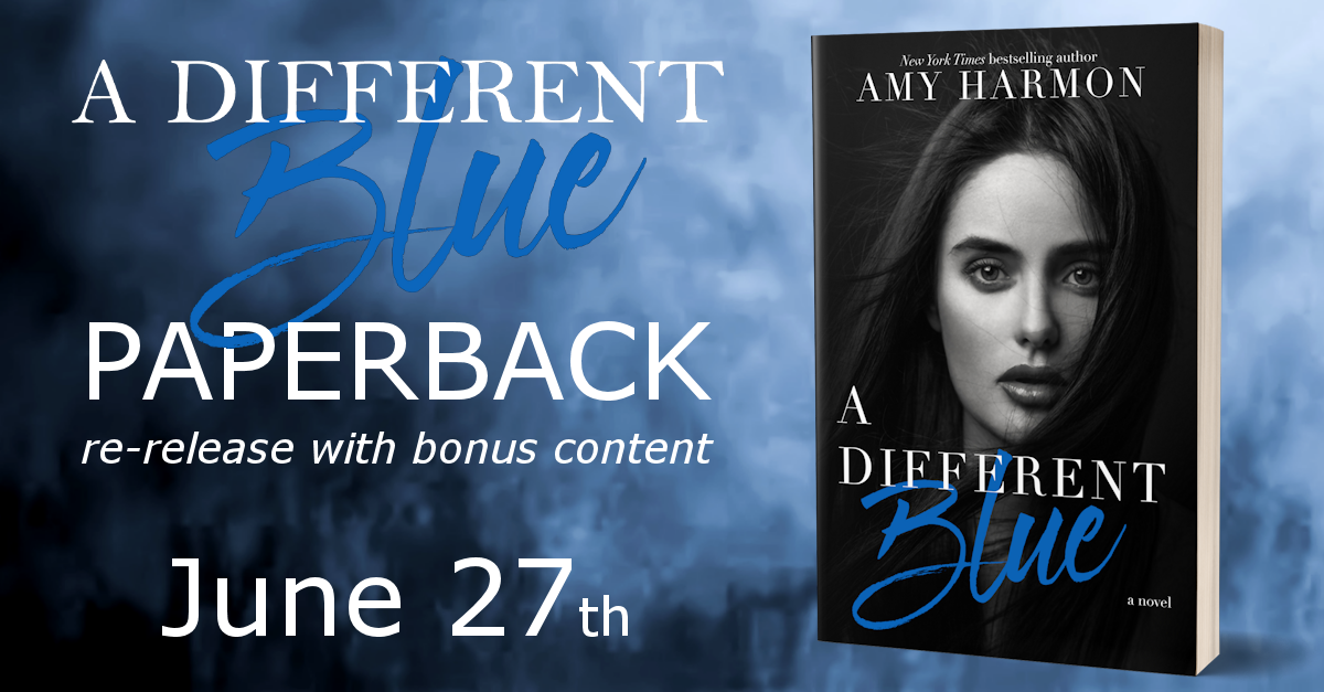 One (1) signed copy of A Different Blue - new edition!
