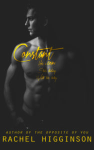 ♥ Cover Reveal ♥ Constant by Rachel Higginson