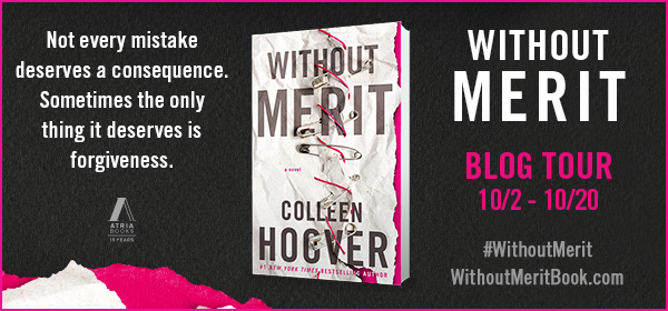 Win 1 of 5 signed hardcover copies of WITHOUT MERIT!