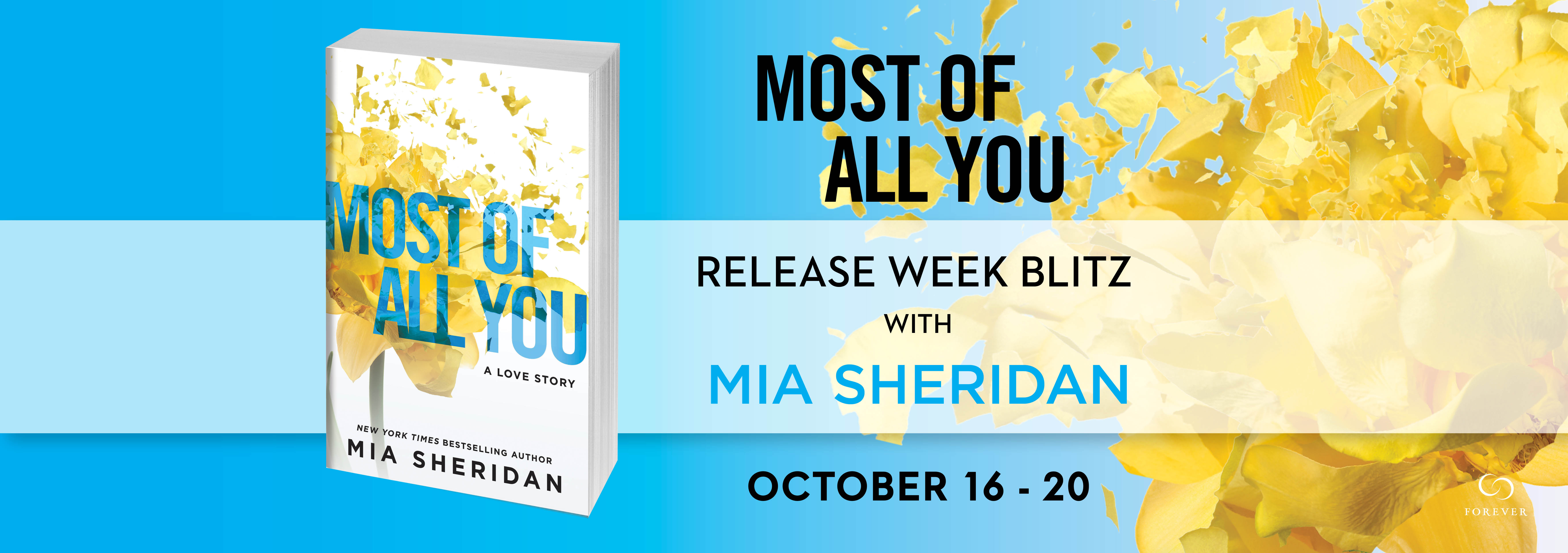 Most of All You by Mia Sheridan -- Review & Giveaway