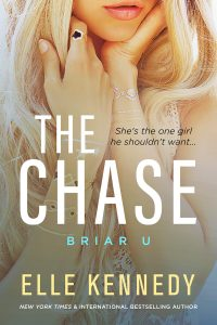The Chase by Elle Kennedy #FirstLook at the first book in the #BriarU series! #SummerandFitzy
