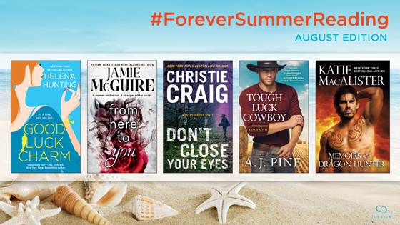 Enter to win a set of our #ForeverSummerReading August Books + Tote Bag!