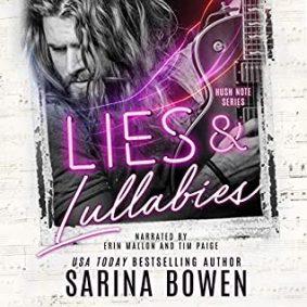 Lies & Lullabies (Hush Note, #1) by Sarina Bowen –> Audible Review & Excerpt